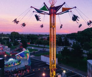 carnival, fair, and pink image