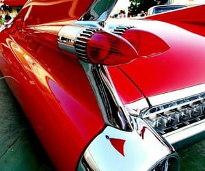 1950's, cadillac, and classic cars image