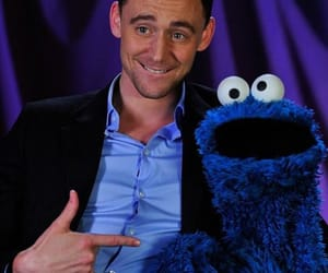 tom hiddleston, cookie monster, and loki image