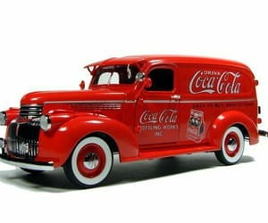 1941, chevy, and coca-cola image