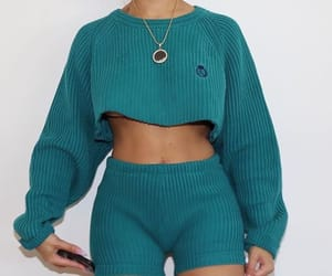 outfit and green image