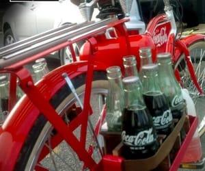 coca-cola, summer, and vintage bikes image