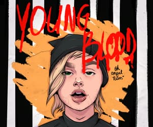 art, drawing, and youngblood image