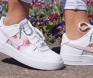 air force 1, chaussures, and femme image