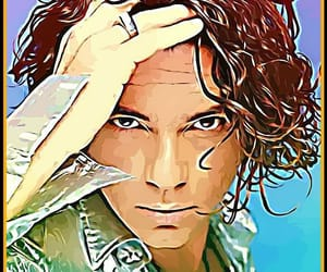 art, INXS, and Michael Hutchence image