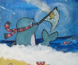art, original painting, and childrens art image