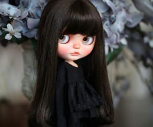 black, doll, and mysterious image