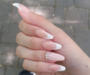 manicure, nails, and natural image