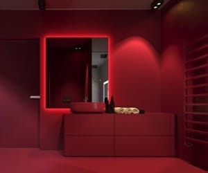 room and red room image