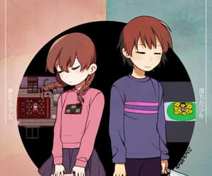 art, yume nikki, and frisk image