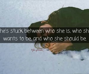 girl, montage, and quote image