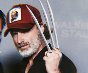 themes, andrew lincoln, and twd image