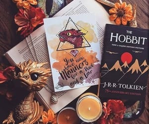 smaug, tolkien, and thehobbit image