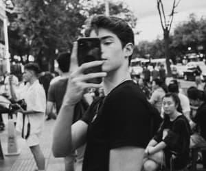 boys, black and white, and manu rios image