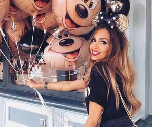 disney, balloons, and girl image