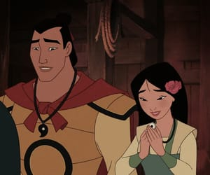 disney, icon, and mulan image