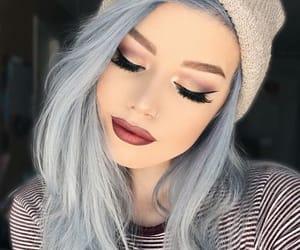 make up, girl, and tumblr image