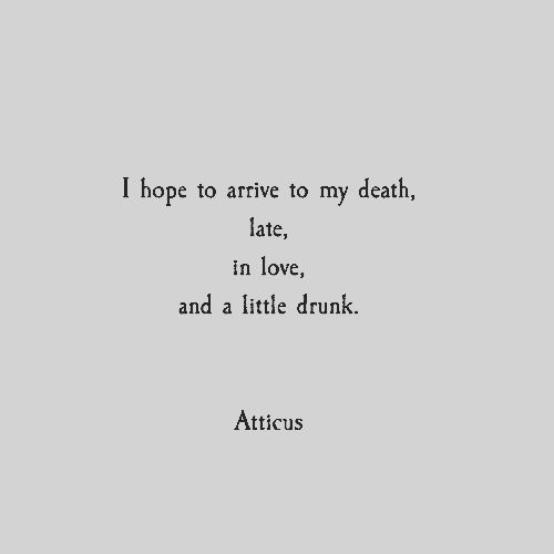 My Favorite Atticus Poems On We Heart It