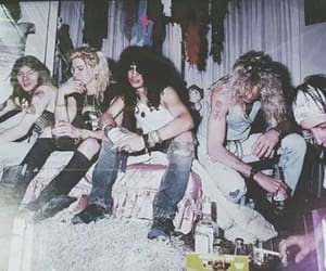 80s, axl rose, and band image