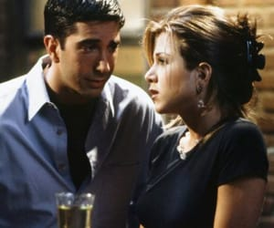 friends, rachel green, and ross geller image