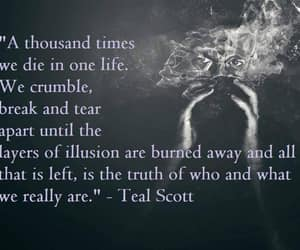 illusion, tear, and quotes image