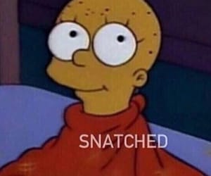 meme, snatched, and the simpsons image