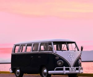 car, life, and sunset image