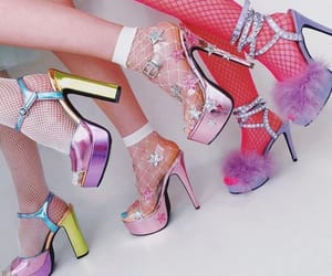 shoes, heels, and pastel image