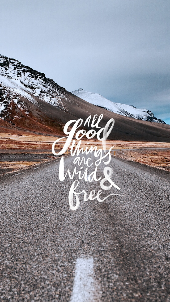 All Good Things Are Wild And Free On We Heart It
