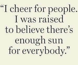 cheer, supportive, and generous image