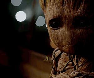 gif, groot, and cute image