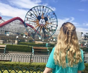 blond hair, hairstyle, and wonderland image