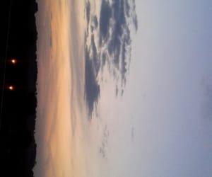 horizonte, paisagem, and por do sol image