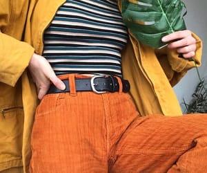 90s, orange, and style image