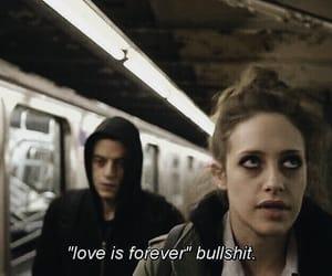 bullshit, darlene, and love image