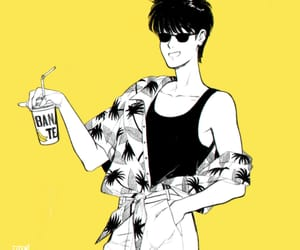 anime, fan art, and banana fish image