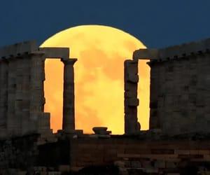 Athens, Greece, and night image