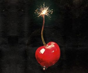 cherry bomb, cherry, and red image
