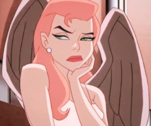 cartoon, hawkgirl, and icon image
