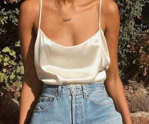 casual, chic, and gold image