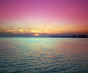 colorful, evening, and nature image