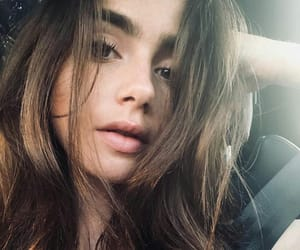 lily collins, pretty, and beauty image