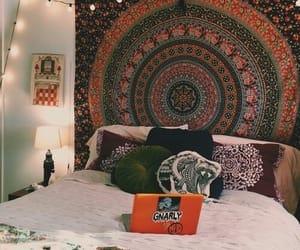 bedroom, hippie, and indie image