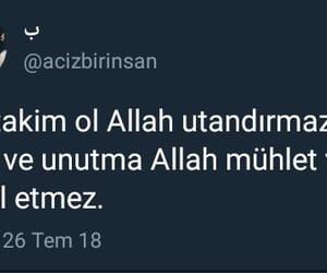 twitter, sözler, and musluman image