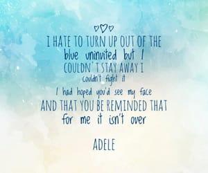 Adele, Lyrics, and music image