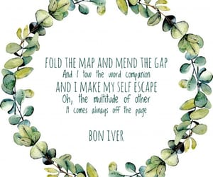 band, bon iver, and song image