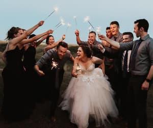 couples, happiness, and wedding image