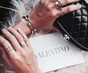 Valentino, fashion, and accessories image