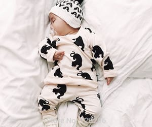 baby clothes and baby image