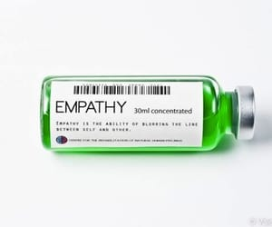 bottle, empathy, and green image